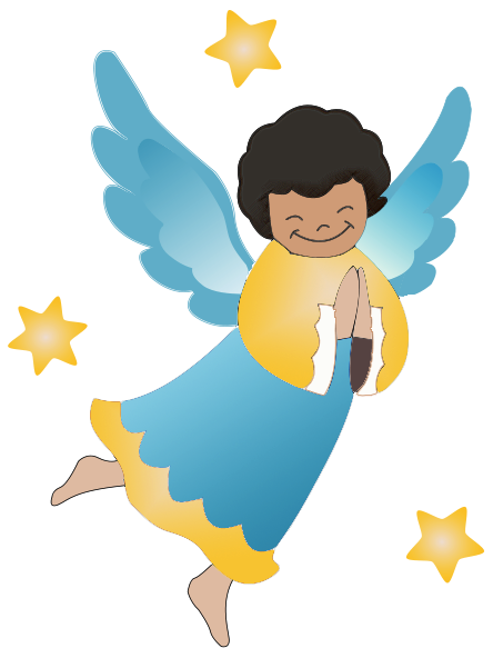 444x592 Angelic Clip Art Halloween Cliparts