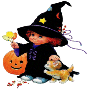 300x300 Baby Cute Halloween Clipart