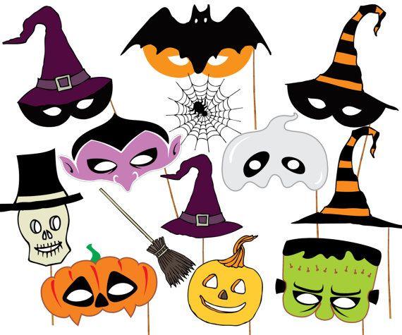 570x475 Best Halloween Photo Booth Props Ideas