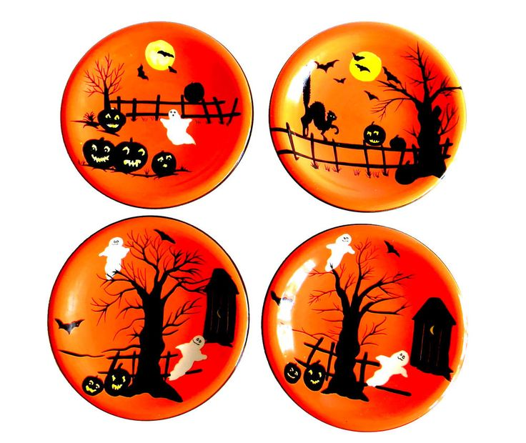 736x620 38 Best Halloween Plates Images Dishes, Bloom