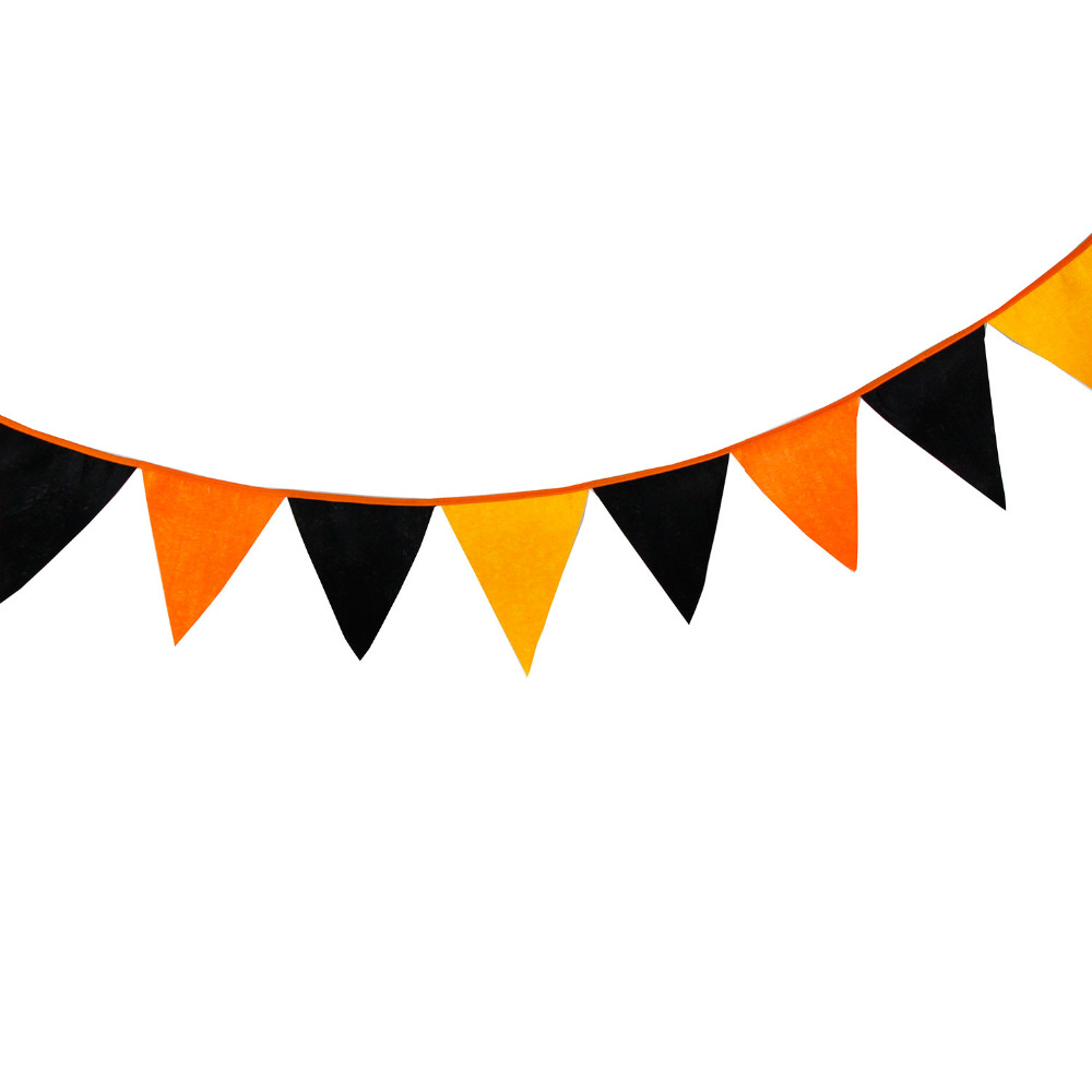 1000x1000 Online Shop 12flags Halloween Bunting Decor Flag Banner Halloween
