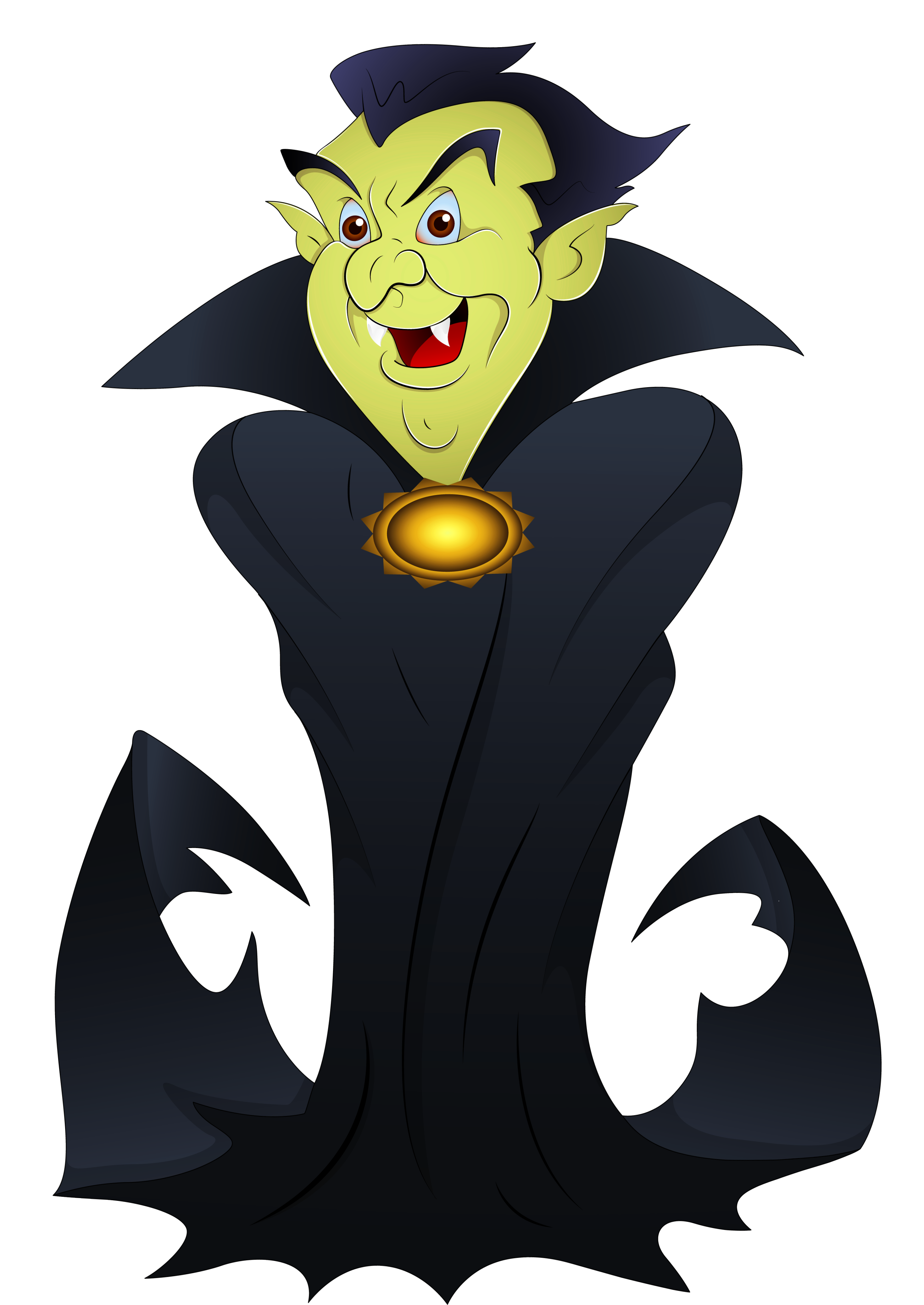 2938x4149 Dracula Clipart Halloween Banner