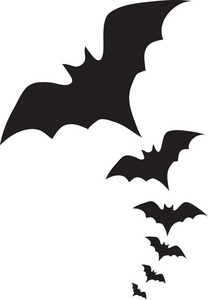 208x300 Vampire Bats Clipart Image