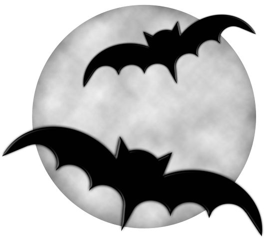 Halloween Bat Clipart Black And White