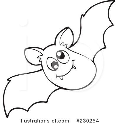 Halloween Bat Clipart Black And White