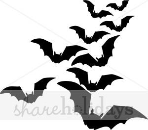 300x265 Black Bats Clipart Halloween Clipart Amp Backgrounds