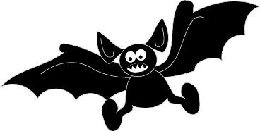 368x186 Halloween Bat Clip Art Cliparts