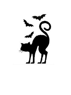 236x314 Halloween Bats Silhouettes