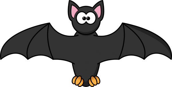 600x305 Halloween Bats Clipart 5 Nice Clip Art