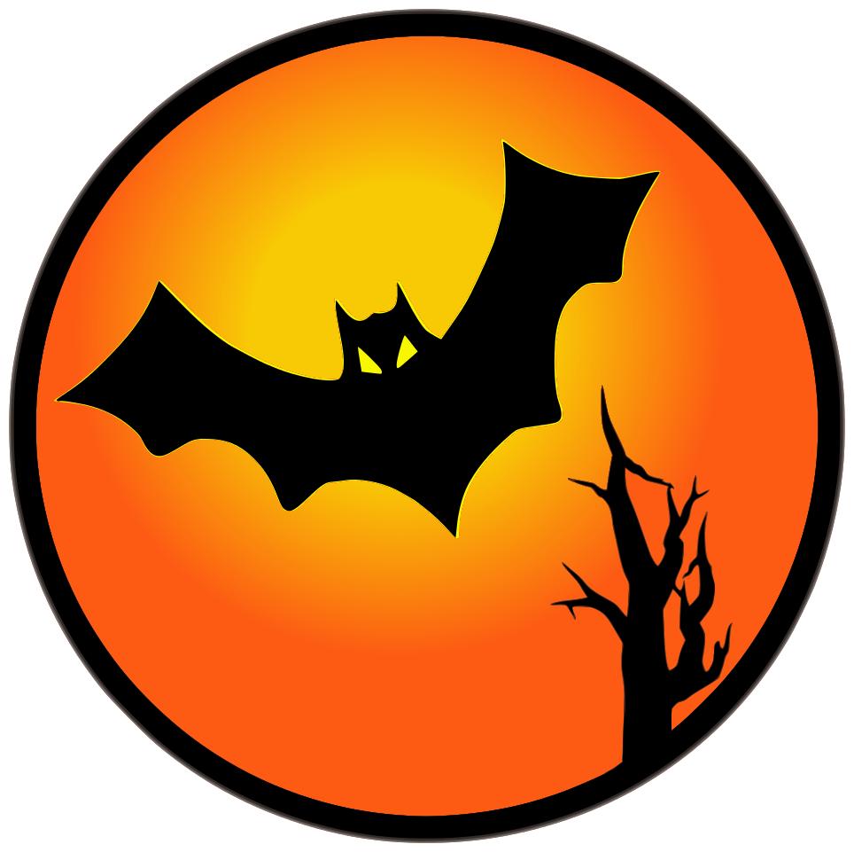 964x961 Halloween ~ Halloween Bat Moon Clip Art M91hyu2 Bats Decorations