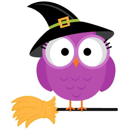 432x432 Cute Halloween Owl Clip Art