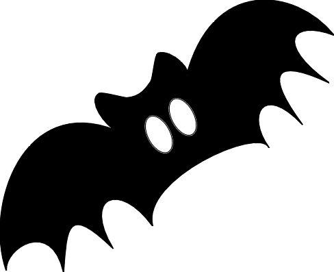 488x397 Halloween Bat Clipart Clipart Panda