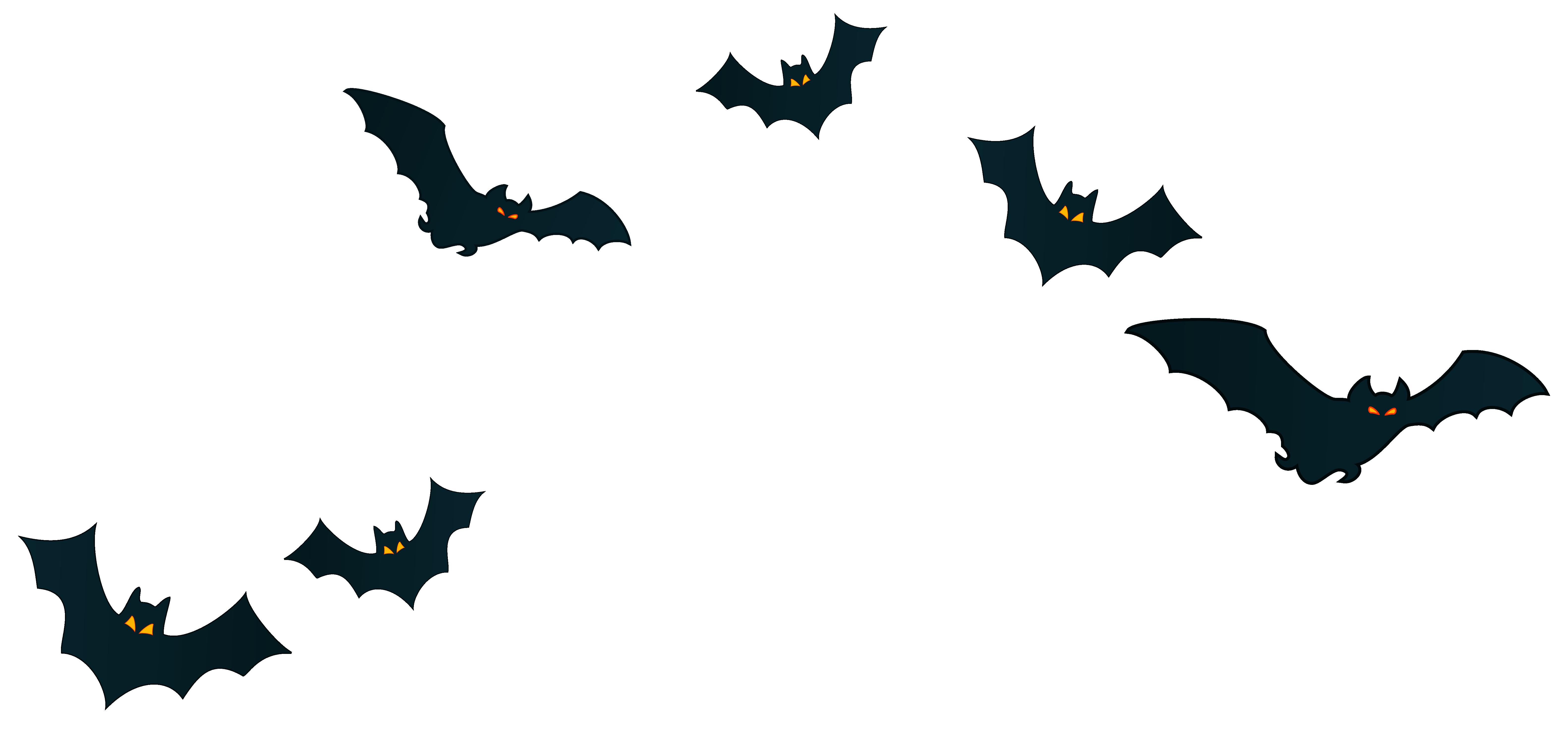 6327x2949 Halloween Bats Decor Png Clipart Imageu200b Gallery Yopriceville