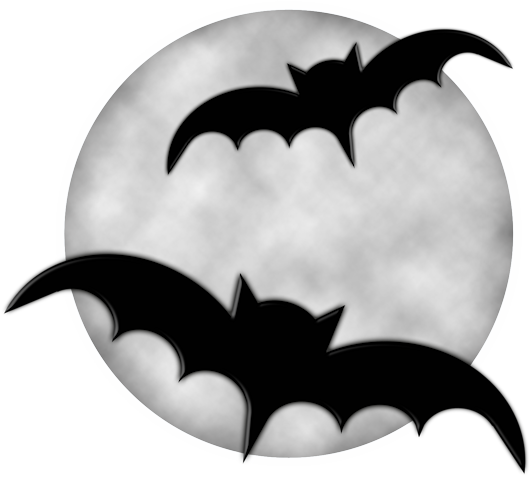 531x477 Halloween Moon With Bats Png Clipartu200b Gallery Yopriceville