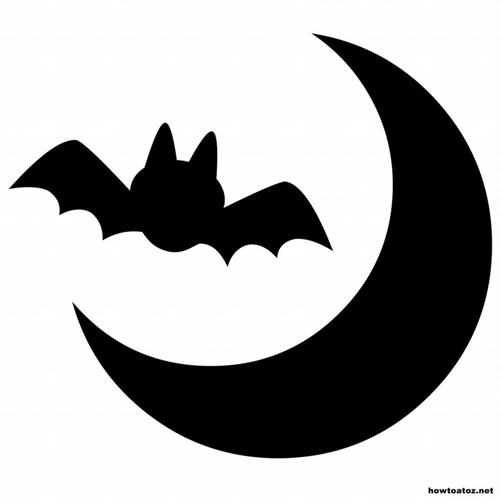 1024x1024 Halloween ~ Halloween Bats Templates Stencils 253660 Excelent