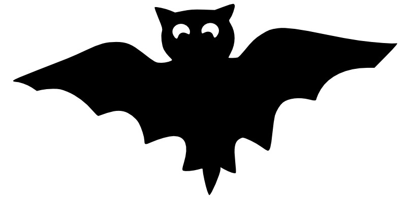 811x393 Printable Bats For Halloween Holidays And Observances