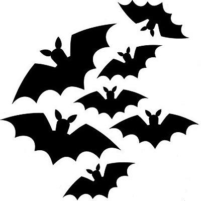 400x400 Halloween Bat Template Make Your Own Halloween Decorations Craft