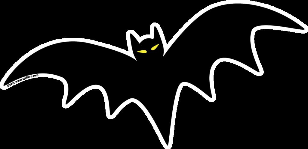 1024x497 Bat Clipart Spooky
