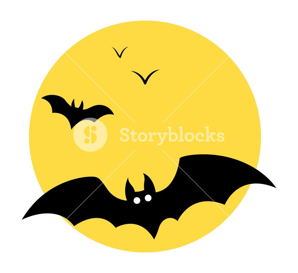 1000x916 Bats Flying In Sky