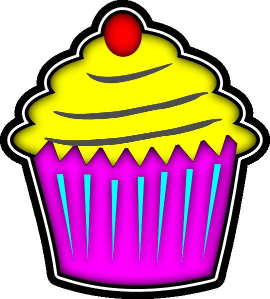 540x599 Cupcake Clip Art
