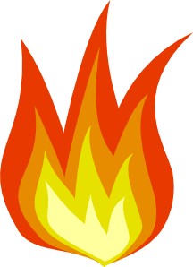 216x298 Flame 1 Clip Art