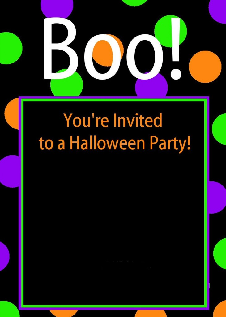 Sassy image within halloween invites printable