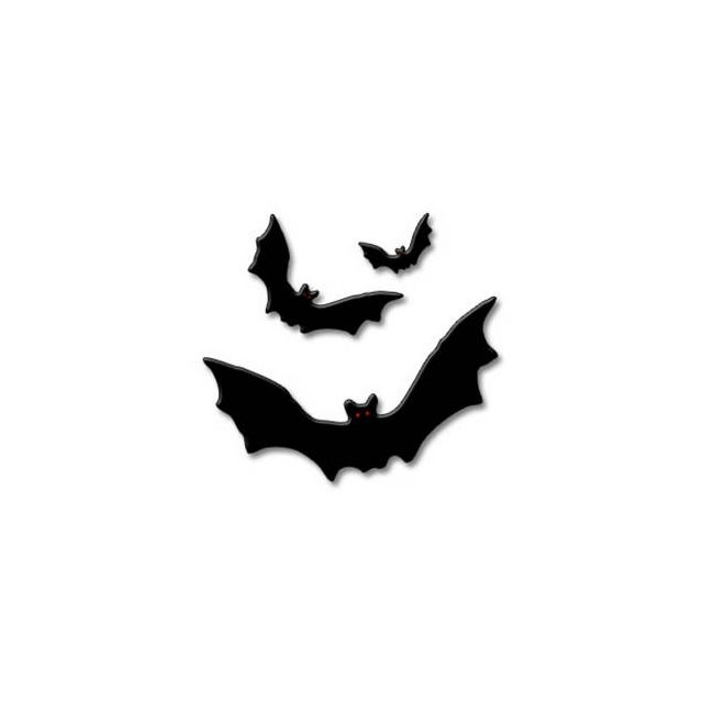640x640 Free^ Halloween Clipart Images, Black And White No Background