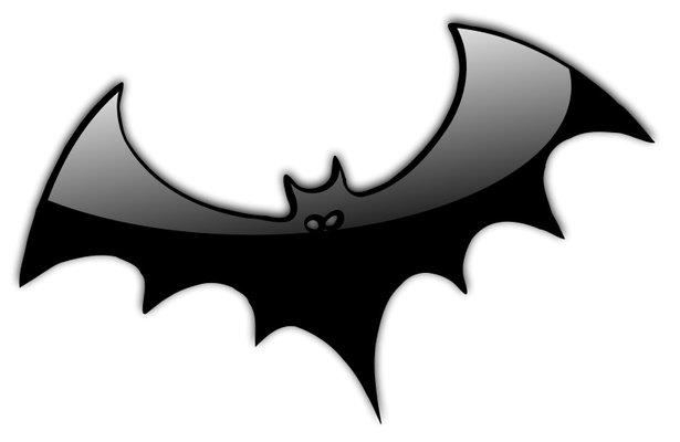 615x400 Halloween Black And White Halloween Bat Clipart Black And White