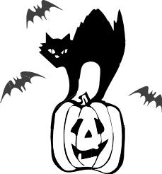229x246 Free Black Cat Clipart