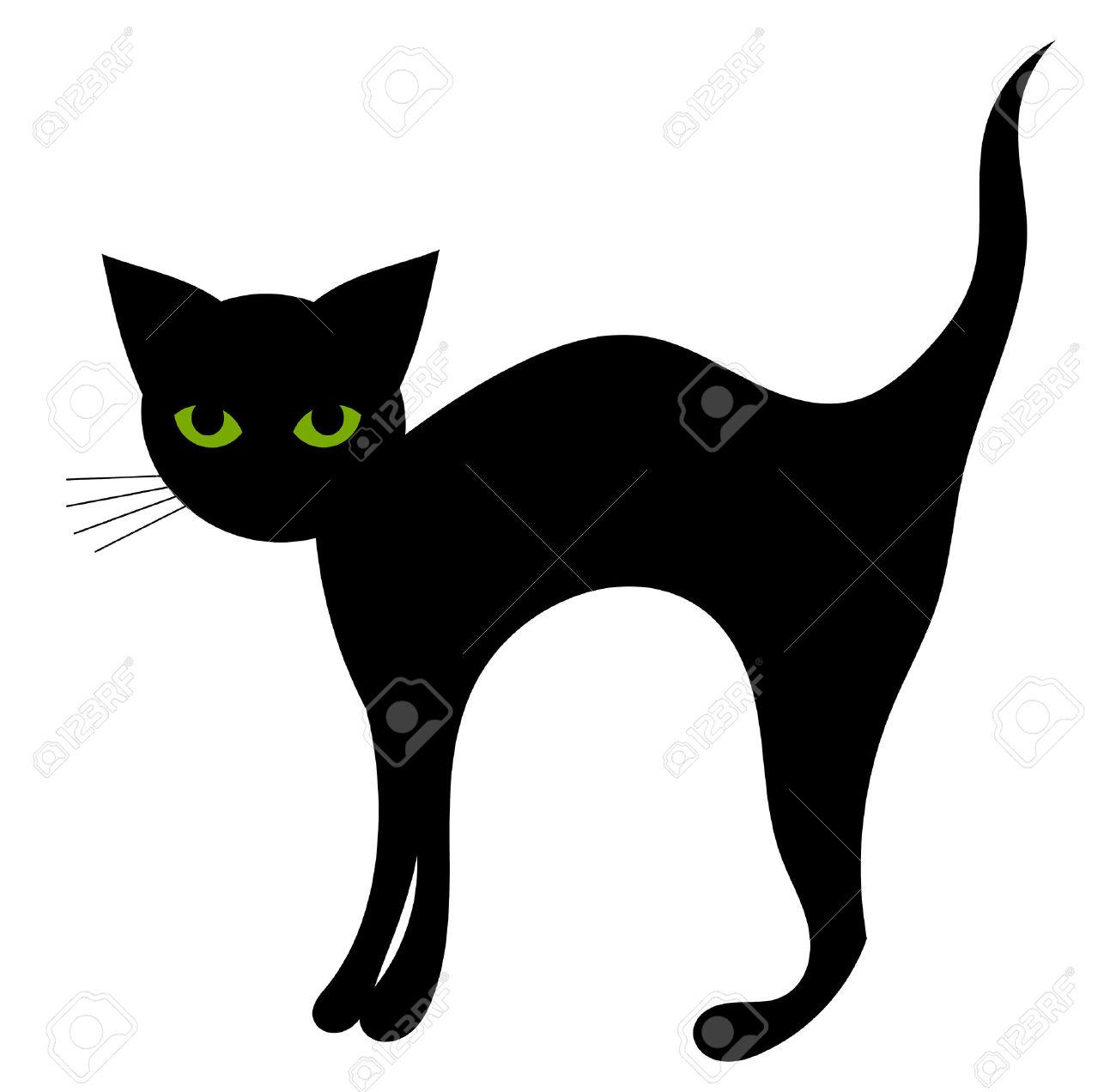 1300x1272 Black Cat Halloween Clipart