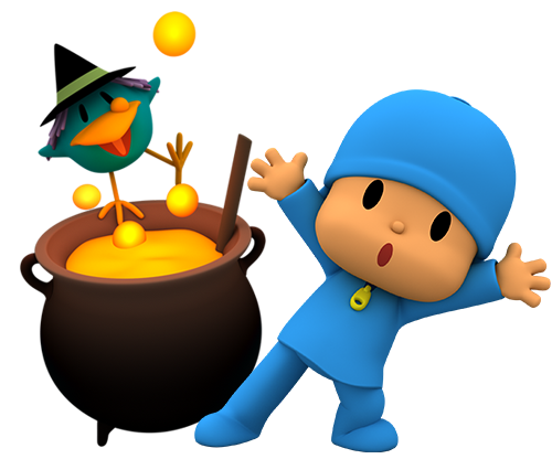 500x416 Live A Terrifying Halloween With New Pocoyo Activities