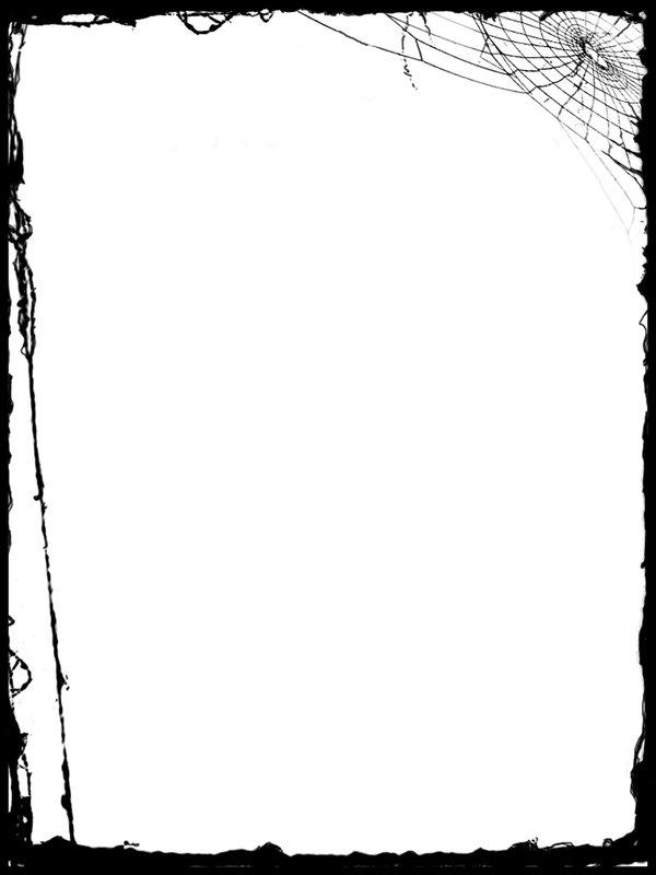 600x800 Halloween Borders Clip Art Clipart 2