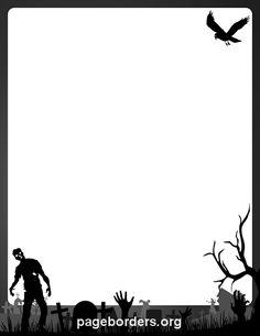 236x305 Printable Happy Halloween Border. Use The Border In Microsoft Word