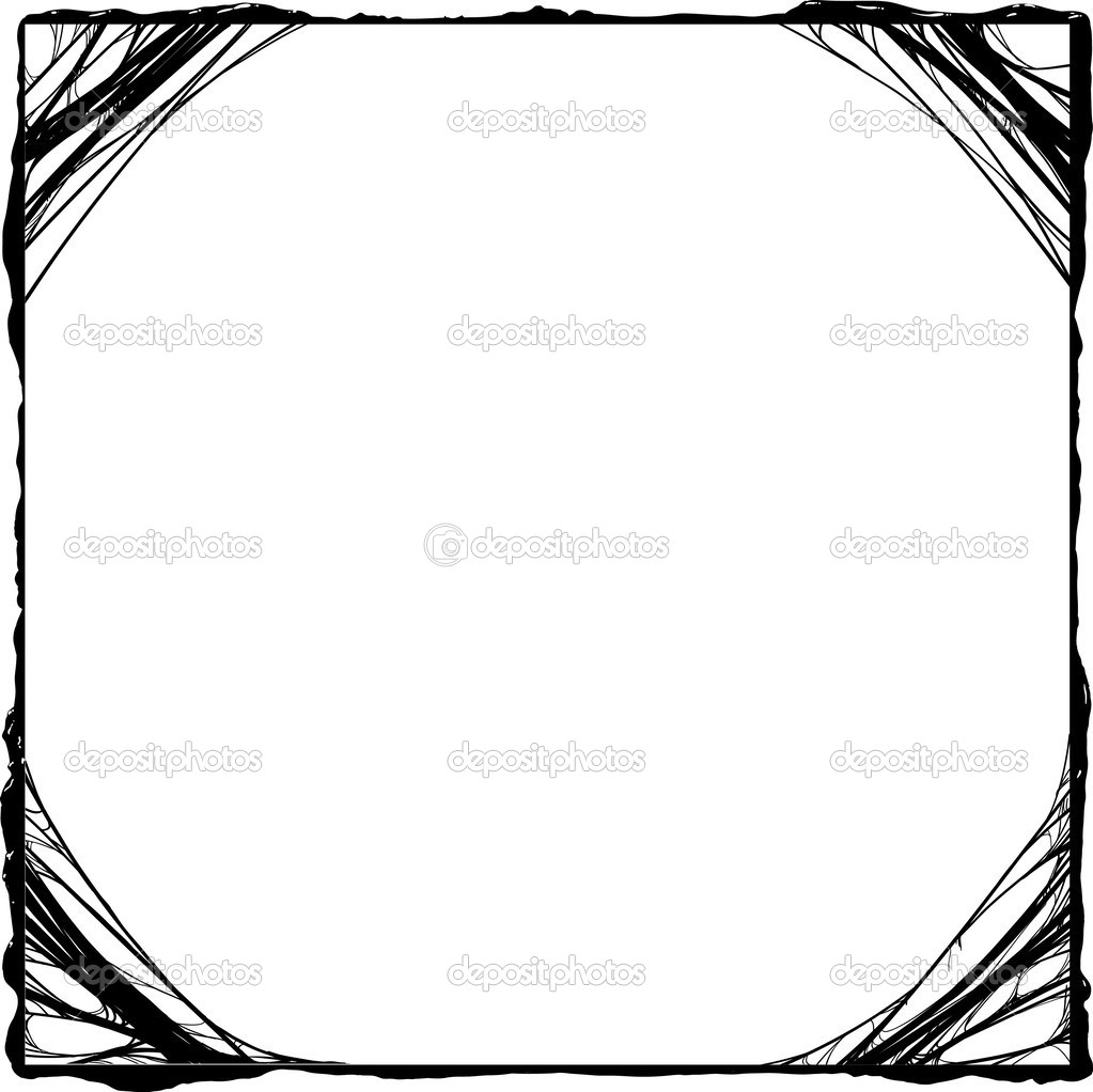 1023x1022 Creepy Clipart Border