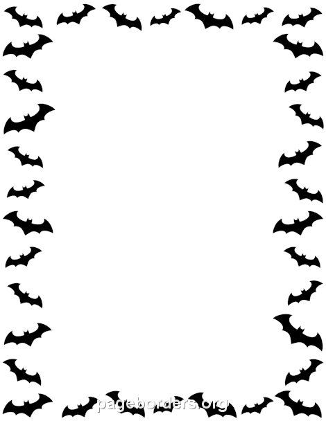 470x608 Free Halloween Borders Clip Art, Page Borders, And Vector Graphics