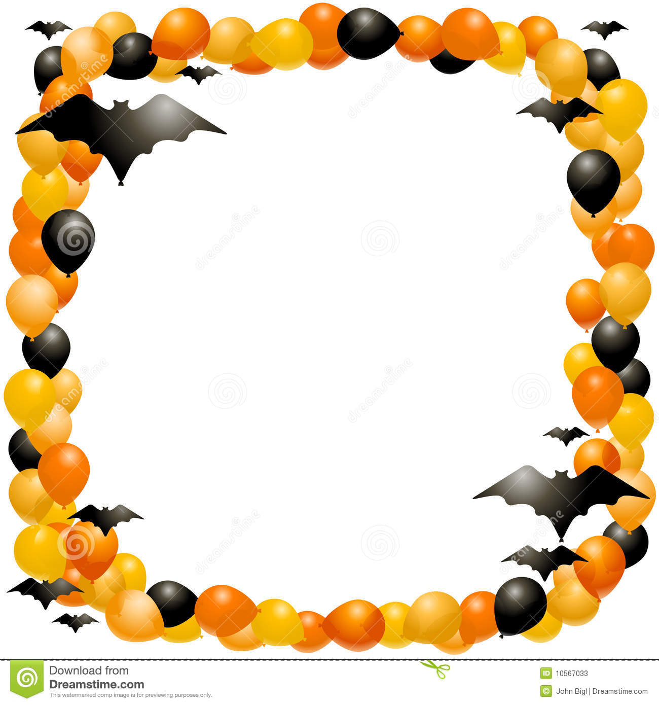 1300x1390 Halloween Clipart Borders