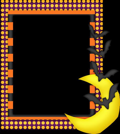 478x534 Bordes Y Marcos Para Halloween. Halloween Borders