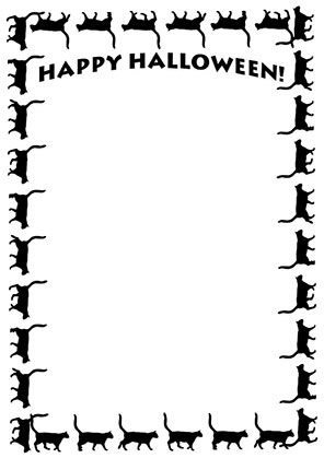 296x419 Halloween Borders