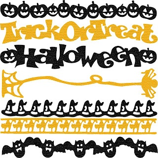 Halloween Borders Free