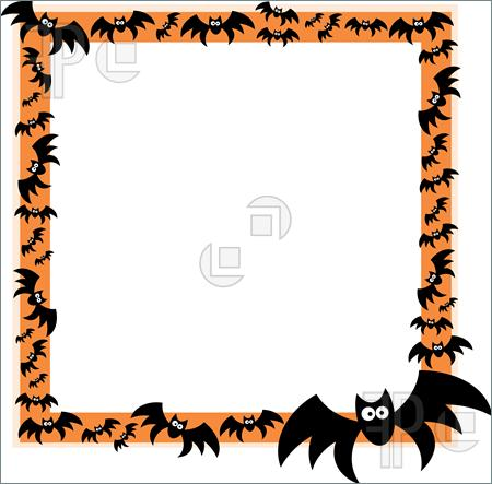 450x443 Halloween Borders Clip Art Free Clipart