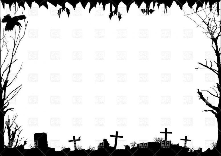 775x548 Top Halloween Border Vector Image Free Clip Art Designs, Icons