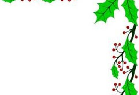 482x330 Christmas Clipart Borders Free Download Halloween Amp Holidays Wizard