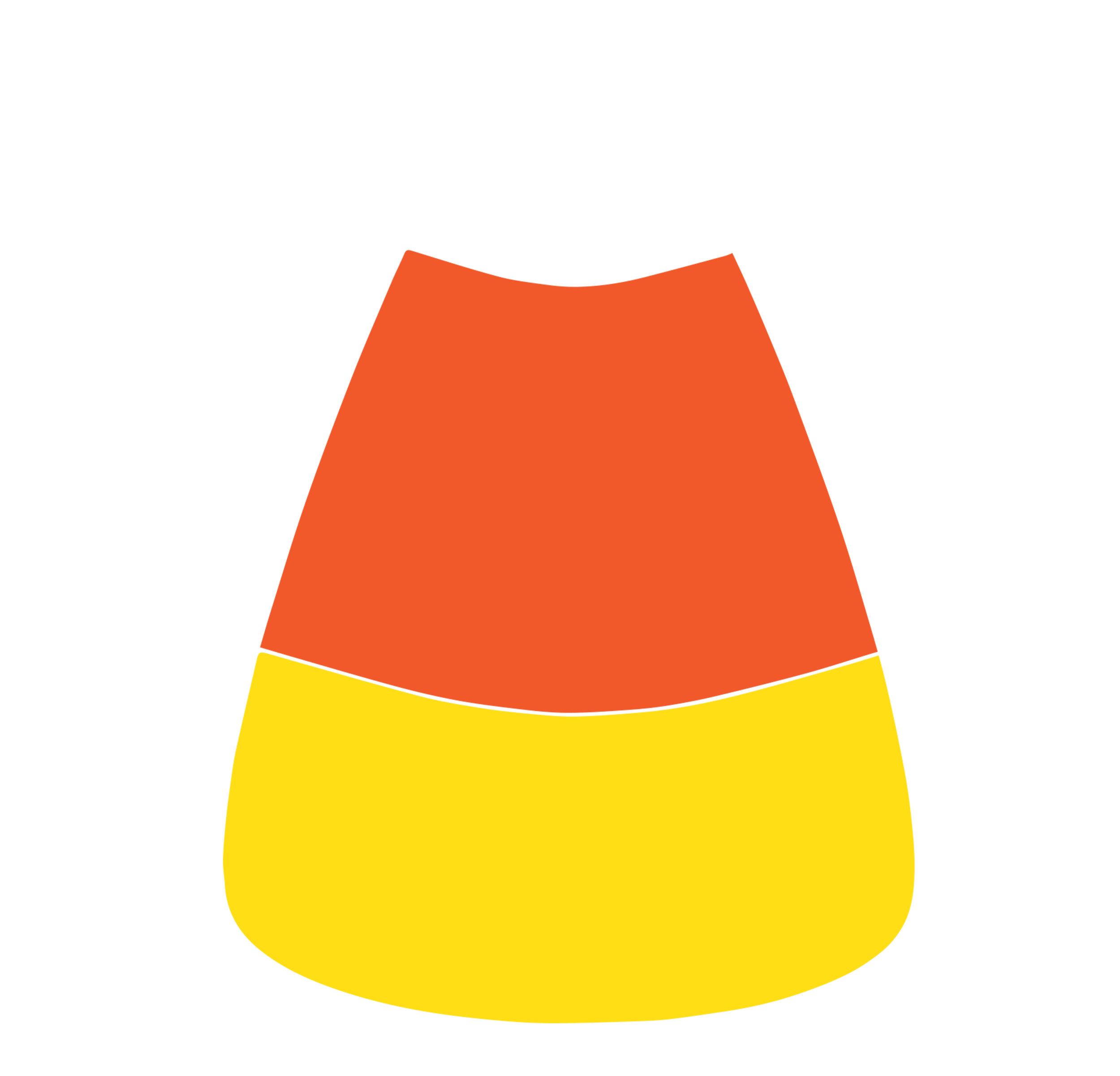 2500x2402 Candy Corn Border Clip Art Free Clipart Images