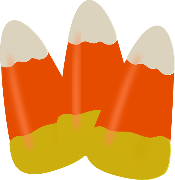 582x598 Halloween Candy Candy Corn Clip Art