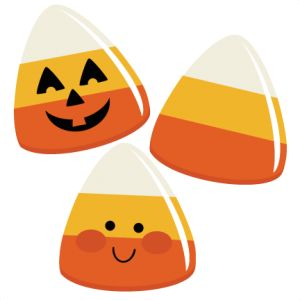 300x300 Candy Corns Svg File For Scrapbooking Halloween Candy Svg Files