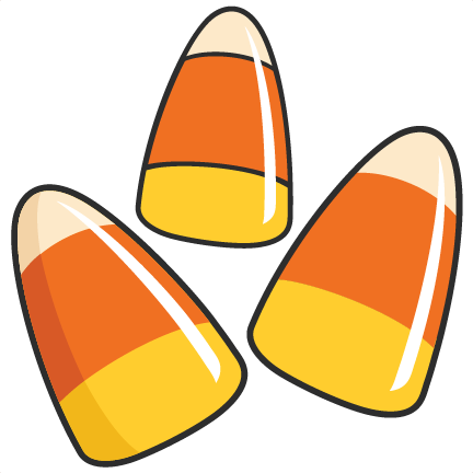 432x432 Candy Corn Black And White Candyrn Clipart Free 3
