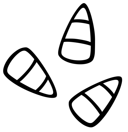 497x513 Candy Clipart Black And White
