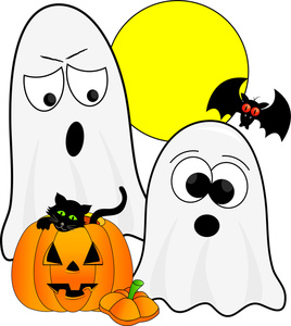 268x300 Spooky Clipart Image