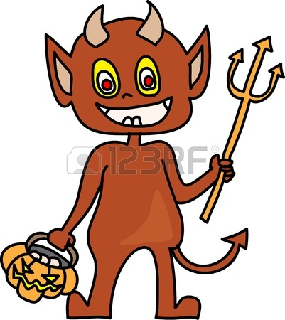 401x450 Halloween Cartoon Charactor Hand Draw Royalty Free Cliparts