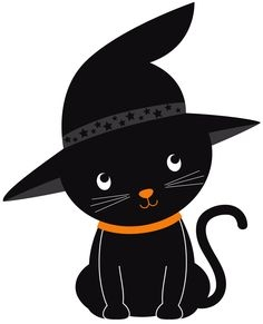 236x291 Cute Black And White Halloween Cat Clipart